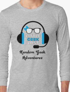 Littlegeeklost Random Adventures Bow Long Sleeve T-Shirt