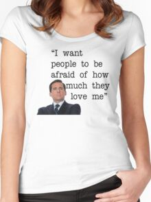 Michael Scott - The Office Women's Fitted Scoop T-Shirt