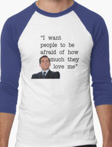 Michael Scott - The Office Men's Baseball ¾ T-Shirt