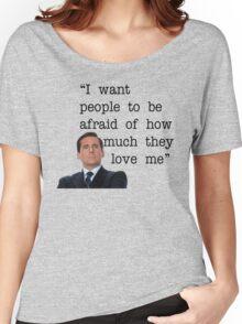 Michael Scott - The Office Women's Relaxed Fit T-Shirt