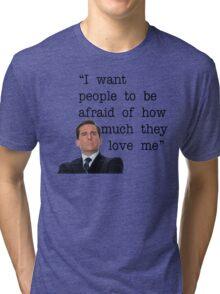Michael Scott - The Office Tri-blend T-Shirt