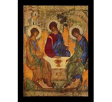 Holy Trinity by Rublev Photographic Print