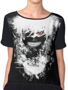 Tokyo Ghoul - The Eyepatch Ghoul (Black Version) Chiffon Top