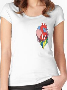 Tear in My Heart Women's Fitted Scoop T-Shirt