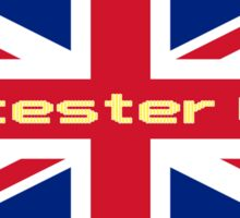 Leicester City T-Shirt Flag Sticker Sticker