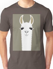 LLAMA PORTRAIT #1 Unisex T-Shirt