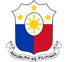 Philippines Coat of Arms Photographic Print