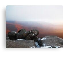 Atop of Old Rag Canvas Print