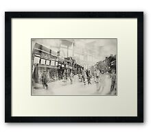 Shakespeare Birthplace Abstract Framed Print