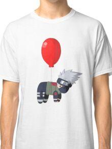 Silver Fox on a Balloon Classic T-Shirt