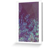 Blue Pixel Greeting Card