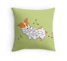 Snuggle Bunny - Blank Throw Pillow