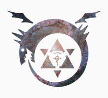 full metal alchemist nebula Kids Tee
