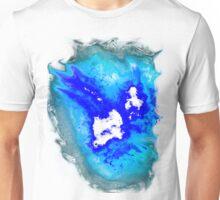 blue and white Phoenix Unisex T-Shirt