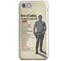 The Ballad of Jayne Cobb iPhone Case/Skin
