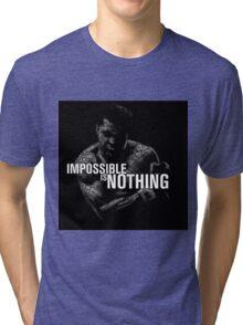 Muhammad Ali nice. Tri-blend T-Shirt