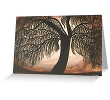 Mystic Willow Greeting Card