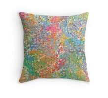 abstract painting 5 Throw Pillow