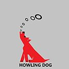 Howling dog by goanna