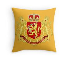 Coat of Arms of the Dutch Republic (1665-1796) Throw Pillow