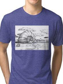 Phi on the Beach Tri-blend T-Shirt