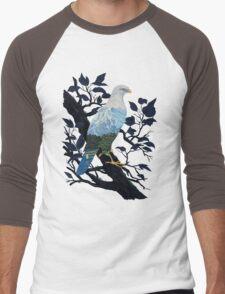 Eaglescape Men's Baseball ¾ T-Shirt
