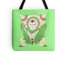 Chesnaught With Flowers Tote Bag