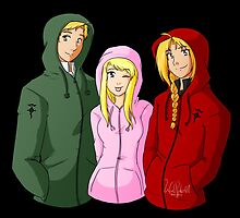 Risembool Trio - Hoodie Edition by BarbaraJHarris