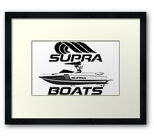 Supra Boats Framed Print
