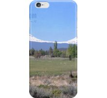 View from backyard. Bend OR iPhone Case/Skin