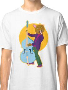 Cool Cat's Blue Bass Classic T-Shirt