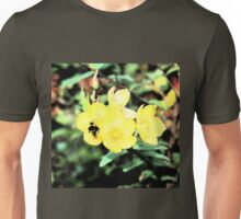 Bee hunting for pollen Unisex T-Shirt