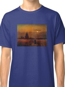 'Fields' by Vincent Van Gogh (Reproduction) Classic T-Shirt