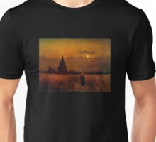 'Fields' by Vincent Van Gogh (Reproduction) Unisex T-Shirt
