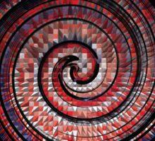 Spikey Swirl Sticker