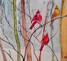 Three Little Hearts by Chris Kfoury