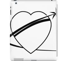 Black Heart Of Gold Logo iPad Case/Skin