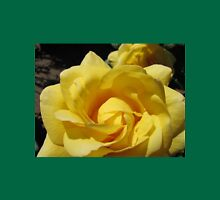 Golden Rose Macro Womens Fitted T-Shirt