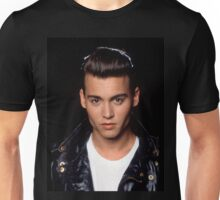 Vintage Young Johnny Depp Unisex T-Shirt