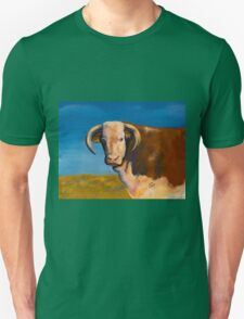 Hereford in Pasture Unisex T-Shirt