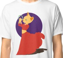 Belly Dancing Cat with Tambourine Classic T-Shirt
