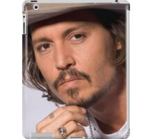 Cool Johnny Depp 2 iPad Case/Skin