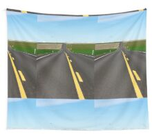 Back Road Wall Tapestry