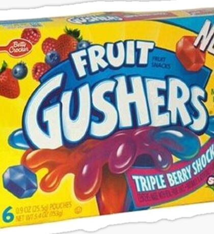 Fruit Gushers Sticker