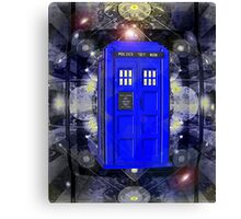 TARDIS CLASSIC LONDON POLICE BOX 1 Canvas Print