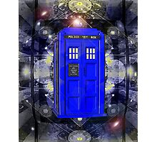 TARDIS CLASSIC LONDON POLICE BOX 1 Photographic Print