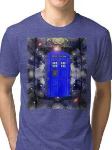 TARDIS CLASSIC LONDON POLICE BOX 1 Tri-blend T-Shirt