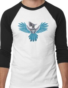 Steller's jay Men's Baseball ¾ T-Shirt