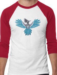 Steller's jay Men's Baseball ¾ T-Shirt