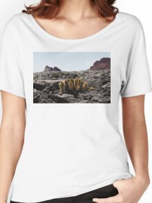 Galapagos Lava Cactus Women's Relaxed Fit T-Shirt